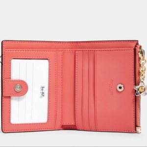 Coach Bags - NWT Snap Card Case Wallet With Bunny Script Print